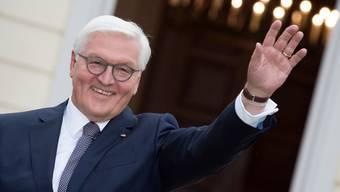 Kommt Ende April anlässlich eines Staatsbesuchs in die Schweiz: Deutschlands Bundespräsident Frank-Walter Steinmeier. (Archiv)