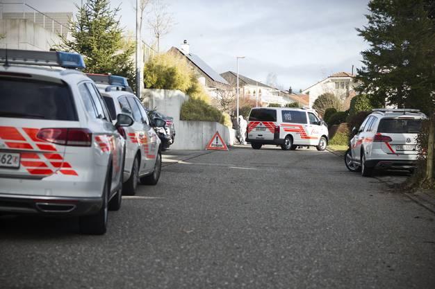 Tatort Rünenberg - ein Nachbar ist der Täter. Er richtete sich anschliessend selbst.