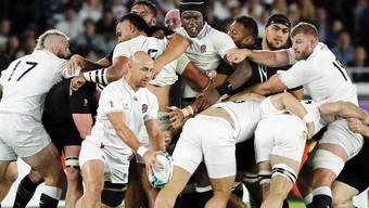 England sorgt bei der Rugby-WM für eine Sensation.