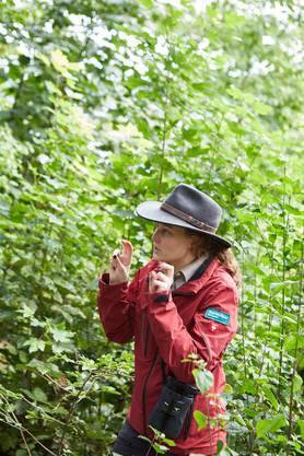 Park-Rangerin Melanie Inhelder will Natur vermitteln.