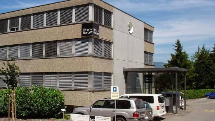 Standort von Emch+Berger in Solothurn.