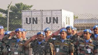 UNO-Friedenstruppen sollen verstärkt werden (Archiv)
