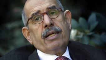 Laut El Baradei spielen Facebook und Twitter eine wichtige Rolle beim Widerstand gegen die Politik des ägyptischen Regimes (Archiv)