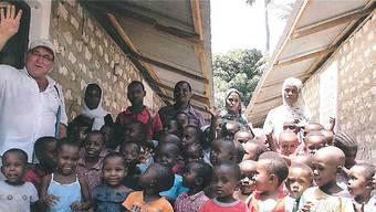 Im Januar wird Antonio Gigliotti mit Frau und Sohn wieder nach Kenia reisen. ZVG