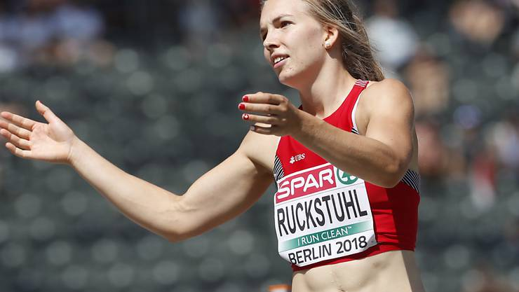 Hat für den zweiten Tag des Mehrkampf-Events in Götzis noch Potenzial: Siebenkämpferin Géraldine Ruckstuhl