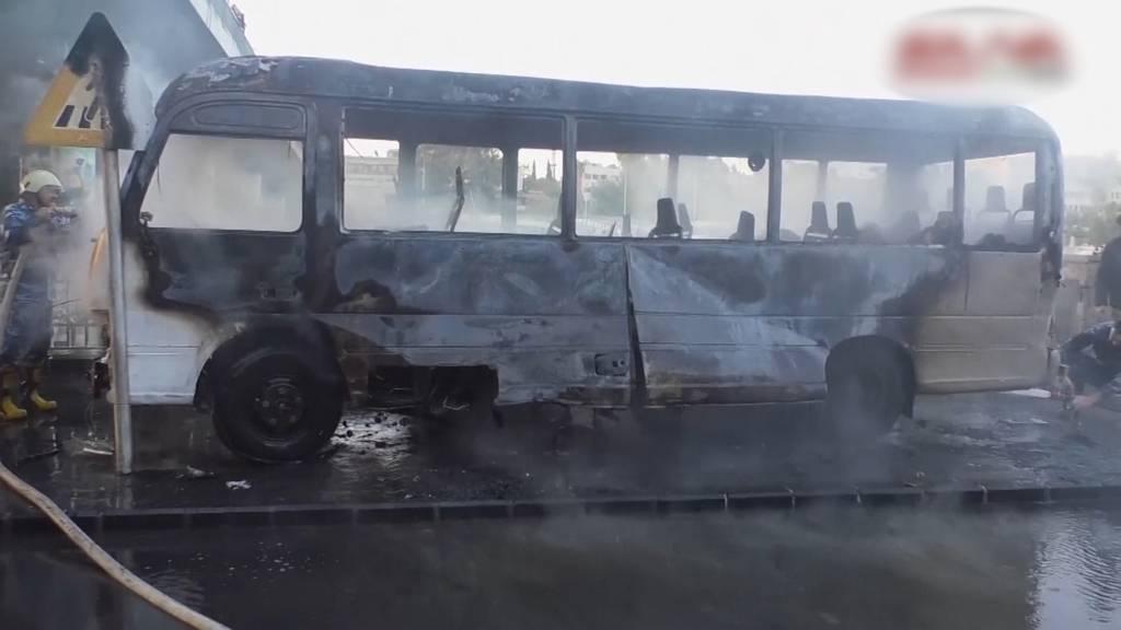 Terroranschlag in Damaskus: Mindestens 13 Tote