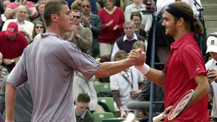 In Hamburg gewinnt er gegen Marat Safin sein erstes Masters-Turnier.