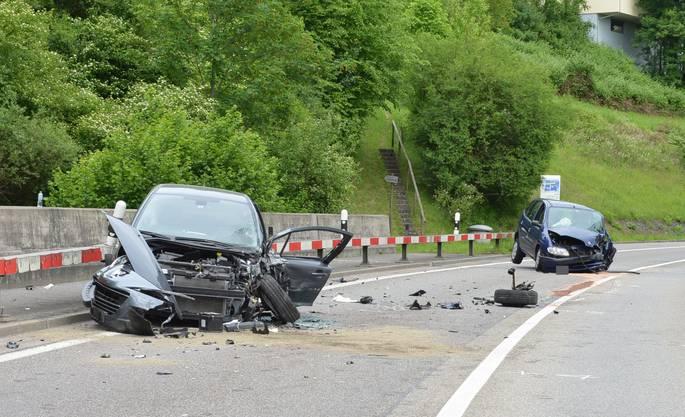 Zum Unfall kam es am Donnerstag, um 15.15 Uhr. Die Ursache ist noch nicht geklärt.