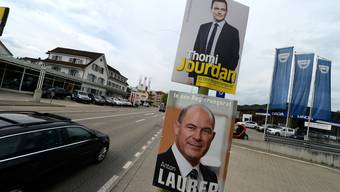 Der Anfang vom Ende der politischen Mitte: EVP-Kandidat Thomi Jourdan fordert 2013 den später in die Regierung gewählten Anton Lauber (CVP) heraus