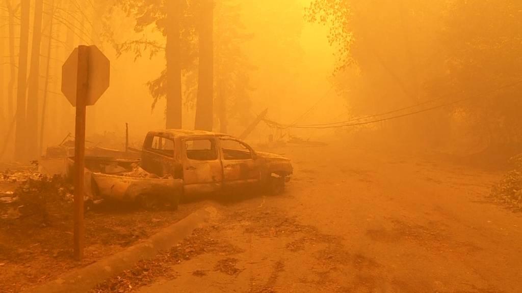 Trotz 14'000 Feuerwehrleuten: Brände in Kalifornien breiten sich aus