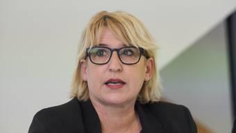 Stadträtin Marion Rauber (SP)
