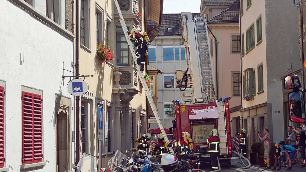 Schaffhausen: Teenager verletzen während Feuerwehrübung sechs Personen