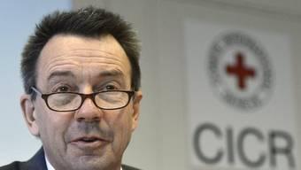 IKRK-Präsident Peter Maurer zeigte sich über das grosszügige Geschenk erfreut (Archiv)
