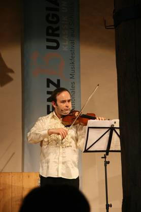 Virtuose auf der Geige: Der Russe Aleksey Igudesman. Foto: PMN