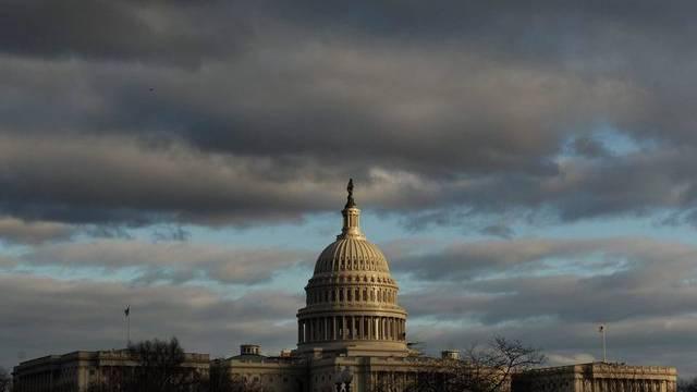 Das Kapitol - das Parlamentsgebäude von Washington D.C. (Archiv)