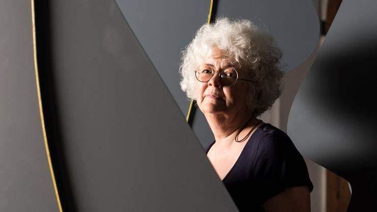 Künstlerin Gillian White hat drei bis fünf Meter grosse Skulpturen für Tanz&Kunst Königsfelden gefertigt.