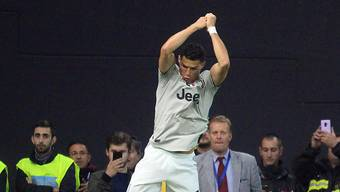 Hat doppelten Grund zur Freude: Juventus Stürmer Cristiano Ronaldo