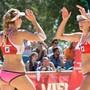 Nina Betschart und Tanja Hüberli gaben sich zum Auftakt der EM keine Blösse