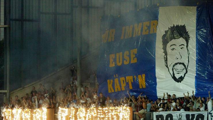 Schon als Spieler hat sich Urs Fischer beim FC Zürich - aber auch in St. Gallen - ein Denkmal gesetzt.