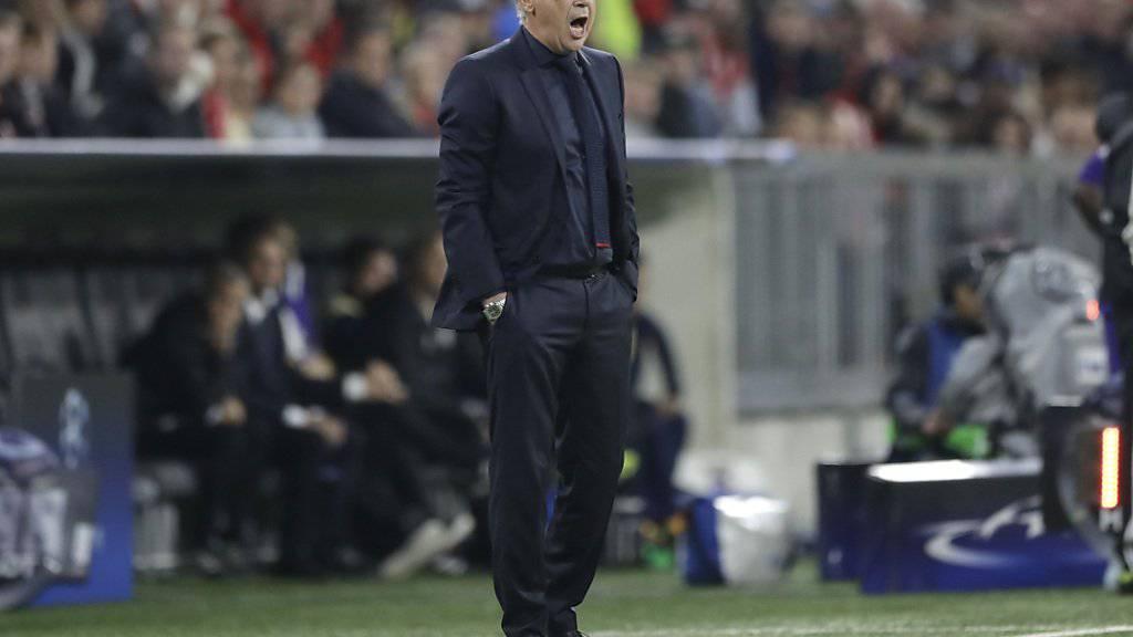 Bayern-Trainer Carlo Ancelotti ist nicht mehr ganz so unbestritten