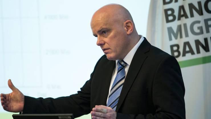 Harald Nedwed ist Präsident der Geschäftsleitung der Migros Bank (Archivbild).