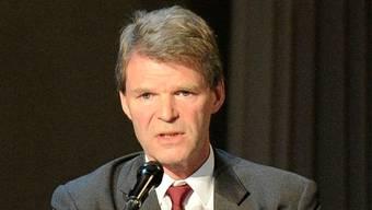Martin Batzer – hier an der GV des Theaters Basel – appelliert an die Basler Politik. Kenneth Nars