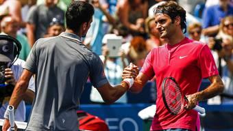 Roger Federer gegen Novak Djokovic: Einen Favoriten gibt es nicht.