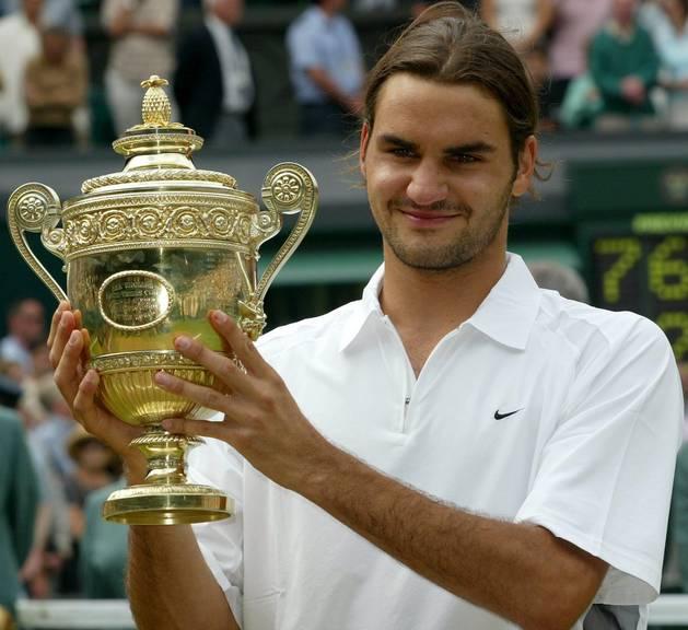 Federer 1. Wimbledon Sieg