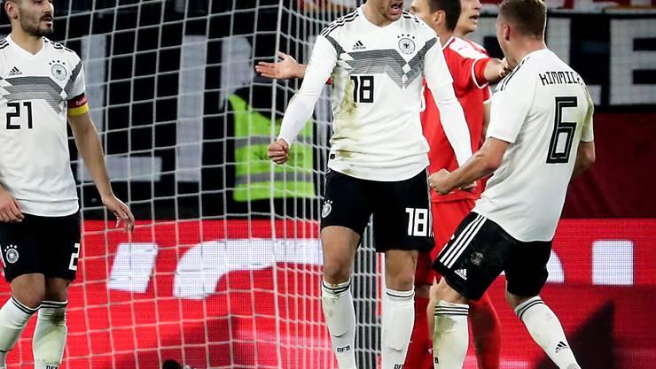 Leon Goretzka verhinderte mit seinem Ausgleich in der 69. Minute eine deutsche Niederlage gegen Serbien