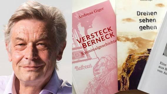 Der Autor Andreas Giger schreibt Krimis auf Anfrage