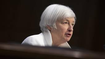 Janet Yellen, Chefin der US-Notenbank Fed. (Archiv)