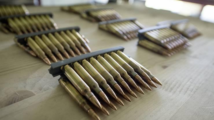 Beim Beschuldigten wurden mehrere zehntausend Schuss Munition sichergestellt. (Symbolbild)