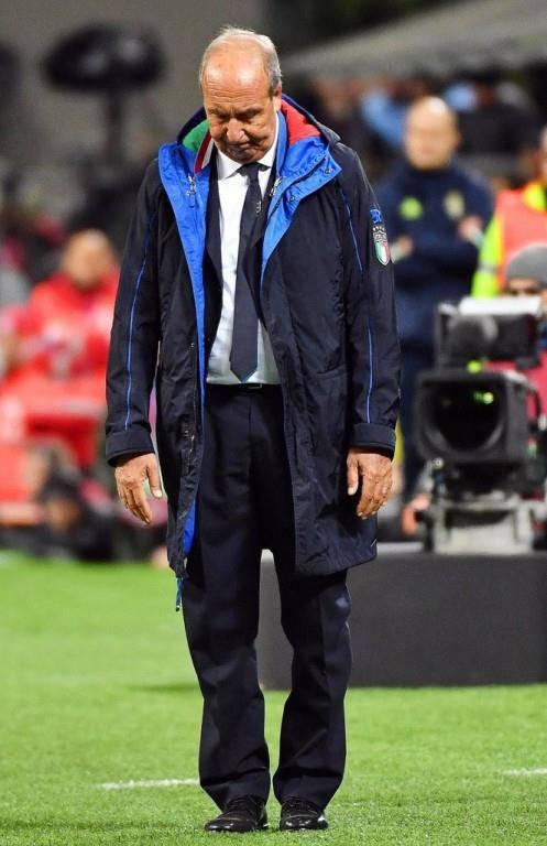 Italien verpasst die WM (© Keystone/EPA/AP)