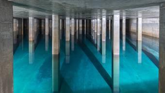 Die Zürcher Haushalte müssen ab kommendem Jahr weniger für das Trinkwasser zahlen. Im Bild das Wasserreservoir Lyren in Altstetten. (Archivbild)