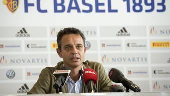 Bernhard Heusler, Präsident des FC Basel.