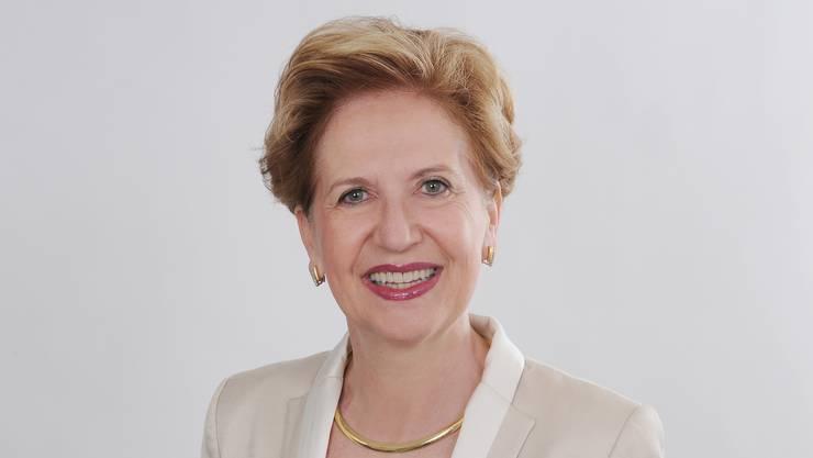 Die neue Basler Unirektorin: Andrea Schenker-Wicki.