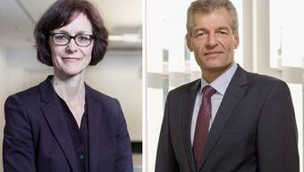 Das Economie-Führungsduo: Direktorin Monika Rühl und Präsident Heinz Karrer.