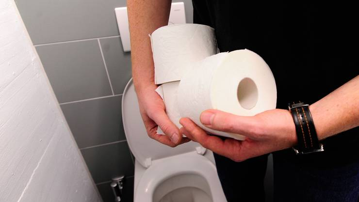 Begehrtes Diebesgut: WC-Papier-Rollen. In den Kantonsspitälern Aarau und Baden gehört der Diebstahl zur Tagesordnung. (efu)