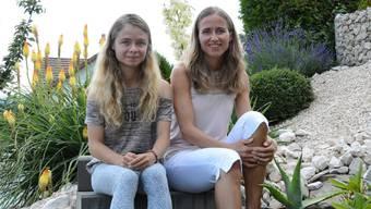 Christina von Dreien mit ihrer Mutter Bernadette Meier.