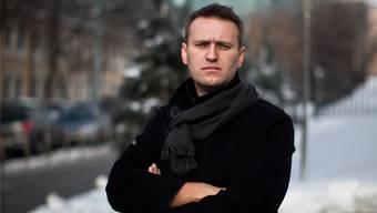 Alexej Nawalny will im Gefängnis 100000 Bücher lesen.The Guardian