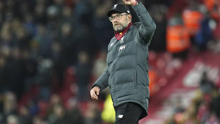 Seit 2015 steht der deutsche Trainer Jürgen Klopp im Stadion an der Anfield Road an der Seitenlinie.