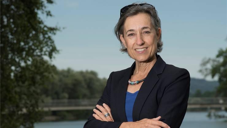 «Ich habe rund 20 Kilo abgenommen»: Angelica Cavegn Leitner (56) ist Mutter zweier Töchter. Die Unternehmerin wurde 2001 für «Pro Aarau» in den Einwohnerrat gewählt und ist seit Januar 2014 Stadträtin und Vizeammann.