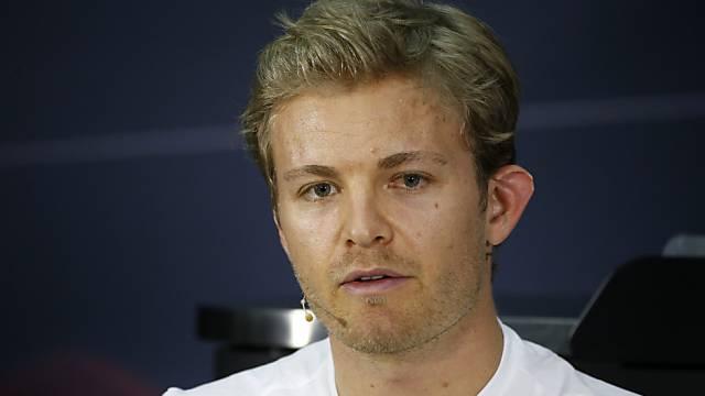 Nico Rosberg war im ersten Training der Schnellste