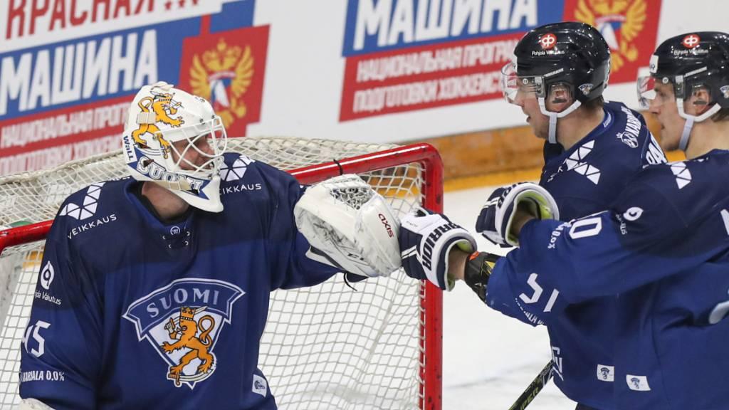 Finnland startet Titelverteidigung erfolgreich