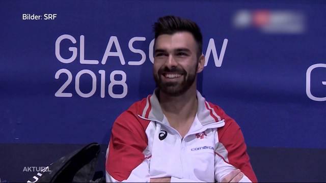 Oliver Hegi gewinnt Gold in Glasgow