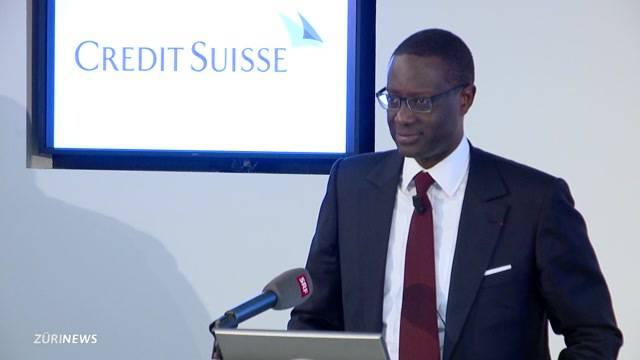Öffentlichkeit ist vom neuen Credit Suisse-CEO positiv überrascht
