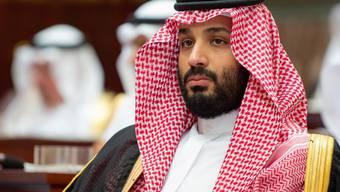 Soll laut CIA die Ermordung des Journalisten Jamal Khashoggi angeordnet haben: Der saudische Kronprinz Mohammed bin Salman. (Archivbild)