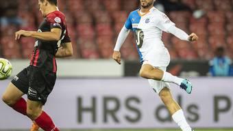Matchwinner für GC: Marco Djuricin auf dem Weg zum 1:0