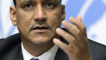 Der UNO-Sondergesandte Ismail Uld Scheich Ahmed führte im Sultanat Oman Gespräche mit der Partei von Ex-Staatschef Saleh und den Rebellen. (Archiv)