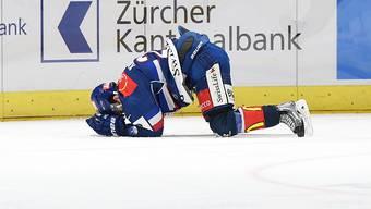 Roger Karrer und die ZSC Lions am Boden: Heimniederlage nach 3:1-Führung
